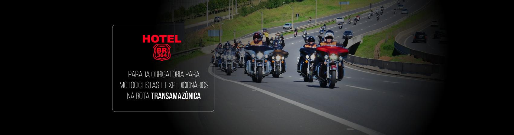 Motociclistas e expedicionários